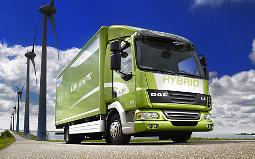 Leyland Trucks are the UK's only remaining builder of light to heavy commercial vehicles. They sell under the DAF brand with the LF (above) being designed, engineered and built in Lancashire.