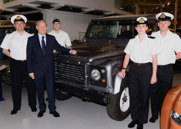 Jaguar Land Rover claim ex military servicemen and women are an asset to the company.
