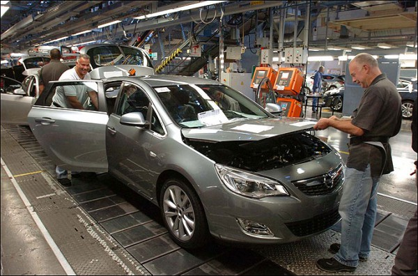 More great employment news for Vauxhall in Luton and Ellesmere Port (above)