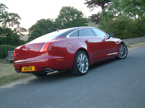 The XJ-L is certainly an imposing sight - All cool and no crass either. A deeply impressive machine.