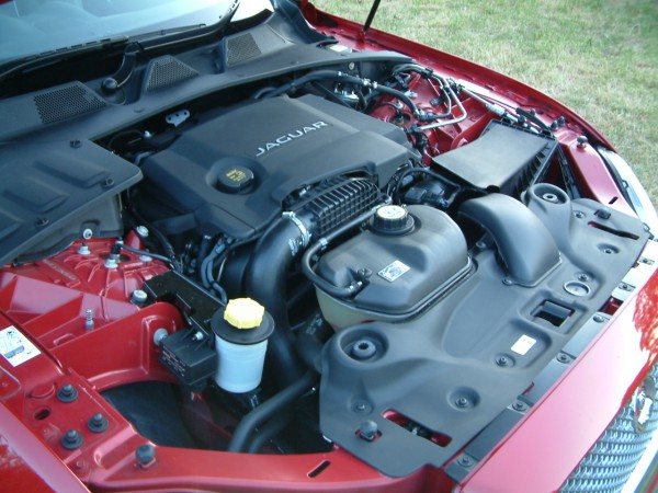 The turbine smooth V6 diesel is fast, refined and pleasingly frugal - Underbonnet view is a little untidy compared to rivals and lets the car down at this level.