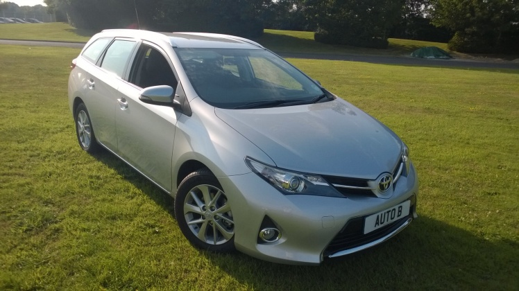 The Toyota Auris Touring Sports 1.6 Icon CVT