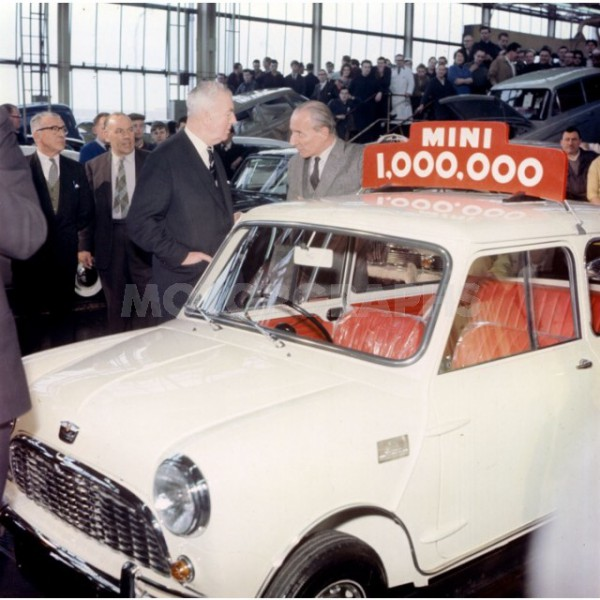 Mini celebrations at Longbridge - but back at Dagenham Ford knew BMC were losing money on Mini that was sold owing to its complexity of design and engineering.