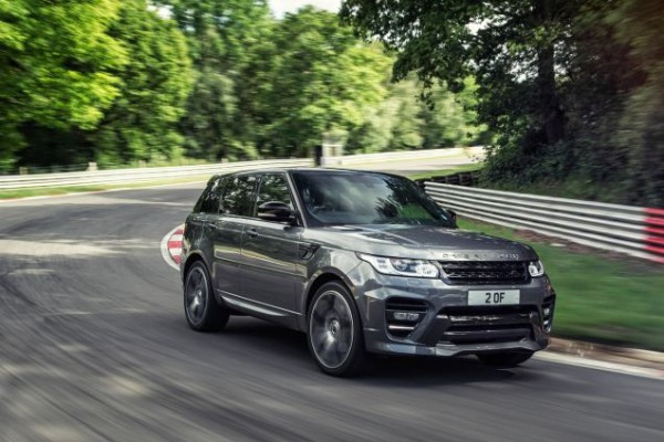 The exhilarating Range Rover Sport SVR hits the showrooms next year but has already been setting records!