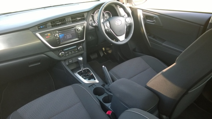 Good space and comfort inside though taller rear passengers may find legroom a bit tight. Loads of oddment and nick nack space and its very practical in ergonomic terms. Colour scheme is bland though and the central part of the dash looks slab like out of place with the stylish exterior.