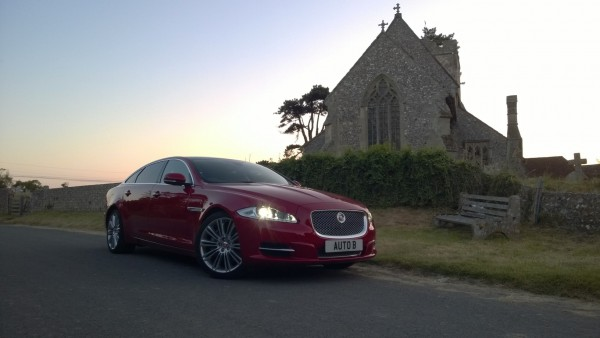Red car in sight? Drivers delight! - The brilliant Jaguar XJ-L 3.0D Portfolio.