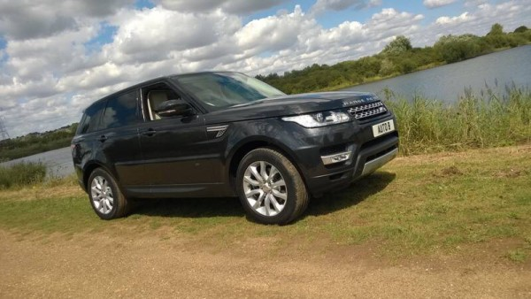 The new Range Rover Sport HSE - Much classier and less aggressive than its predecessor.