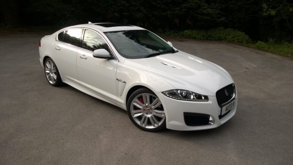 The shockingly good Jaguar XF-R. An Earth shattering, mind blowing and amazingly capable British power house!