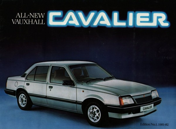 The faithful Cavalier MK2 of 1981 - Model shown in the 1600 GLS