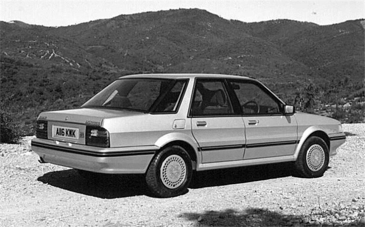 Despite a promising start and certainly being competitive on paper, the Austin Montego was hopelessly under-developed and laughably unreliable compared to the Nissan Bluebird.