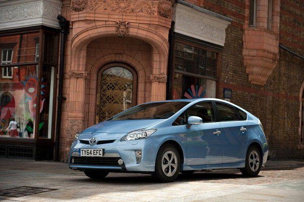 The Toyota Plug in Prius - Daft sounding name but clever in practice.