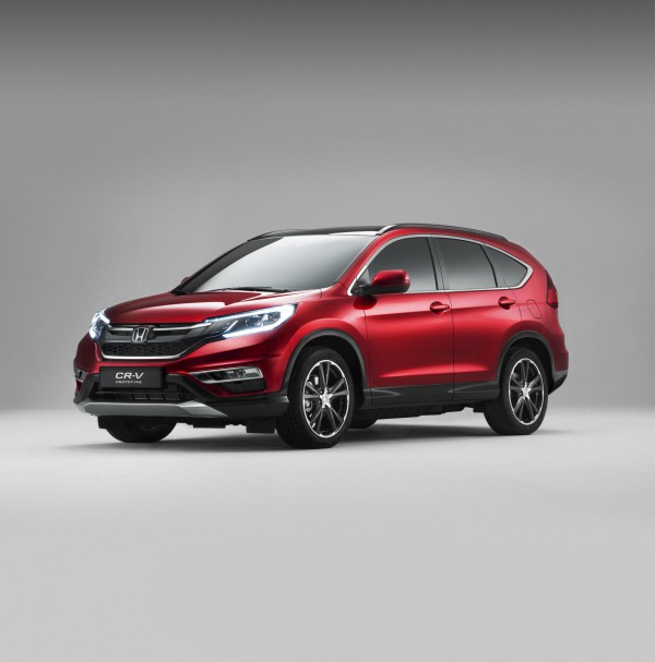 The British made Honda CR-V has undergone some revisions and makes its debut at the Paris Motor Show.