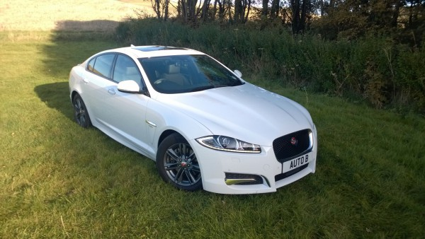 The £33.995 Jaguar XF R-Sport 2.2D