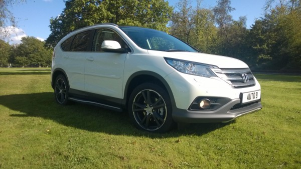 The Honda CR-V 2.2 EX - A very well made and safe feeling British made SUV