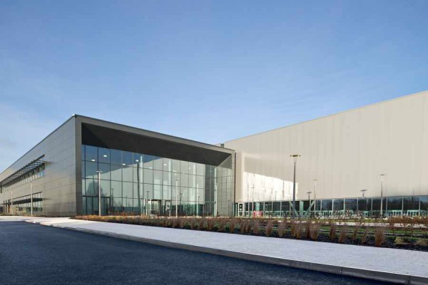 The new engine facility just outside Wolverhampton is part of a £500 Million investment   (img Birmingham Express & Star)