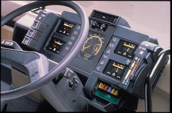 It featured many firsts for a truck including a one peice dashboard and adjustable steering column - it was very simple and easy to drive.