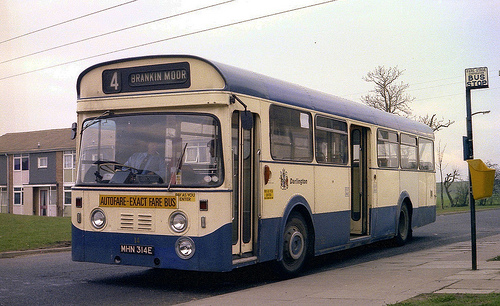Cummins have powered millions of buses and trucks with Darlington built engines including this Daimler Roadliner operated by Darlington Corporation Transport.