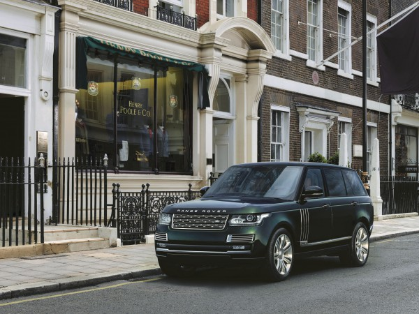 The Holland & Holland Range Rover.