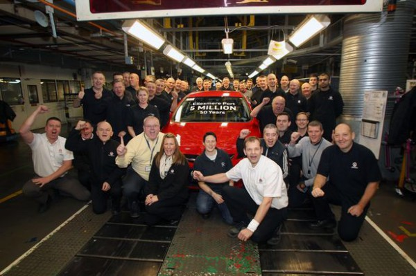 Another momentous occasion in the British motor trade - Congratulations Vauxhall!