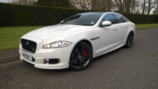 The 5.0 litre 550Ps V8 Jaguar XJ-R