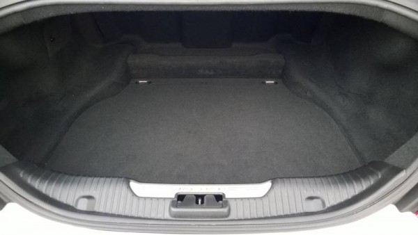 "520 litre boot is ample for five - seat back could do with the ability to fold or at least feature a ""ski hatch"""