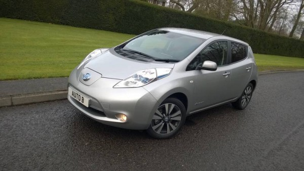 The UK engineered and built zero emission Nissan Leaf Tekna