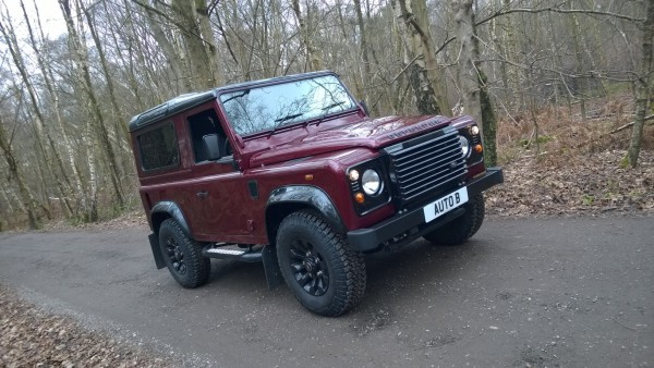 The Land Rover Defender 90 - If there ever was an off road icon... you're looking at it.