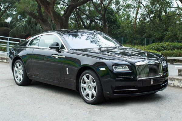 Rolls-Royce have seen an increase in sales of over 40% compared to the previous year. The Far East and the USA are the biggest growing markets for the Worlds most luxurious motor cars such as this Rolls Royce Wraith.