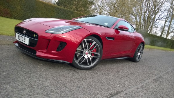 The £86.000 Jaguar F-Type R Coupe.