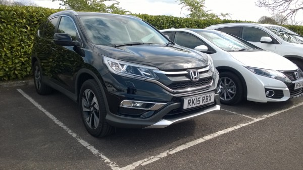 CR-V gains a 160bhp version of the superb 1.6 diesel, a 9 speed auto option, new grille, new bumpers and some suspension improvements. Superb ride and tidy handling. Interior could do with one or two uplifts though but a lovely thing to drive nonetheless.