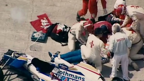 Despite the medics furious attempts, Senna died in hospital as a result of horrific injuries.