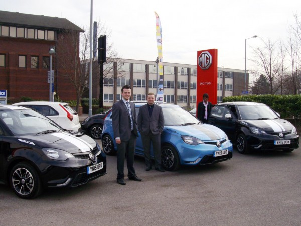 Eric Stead of Sheffield supplied 3 MG3 cars to a local engineering firm.