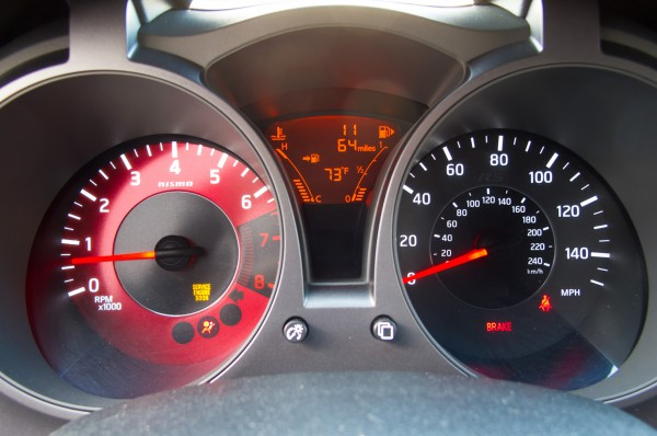 The dials are clear at night and for most of the daytime. Can be prone to reflections and the temp / fuel gauges are hard to spot at a glance in bright light.