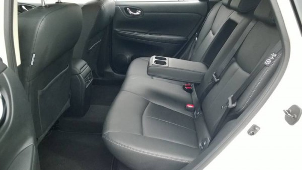 Rear legroom is incredible, in fact, its the best in its class. Rear seat is just as comfy as in the front too.