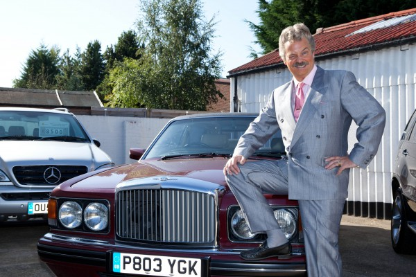 Crap car salesmen - despite ever tightening profit margins and FSC regulations - they're still out there Image: Tyson Benton / BBC
