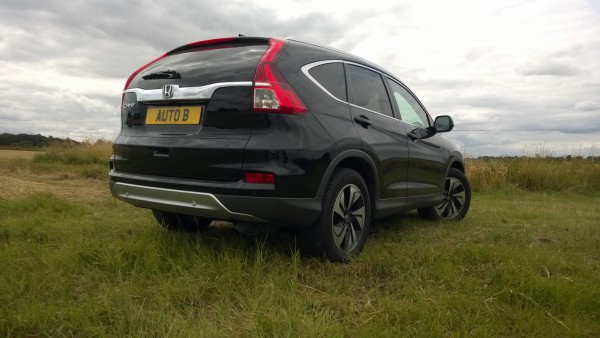 New bumpers front and rear bumpers have given the CR-V a bit more style. It looks and feels like a genuine premium product.