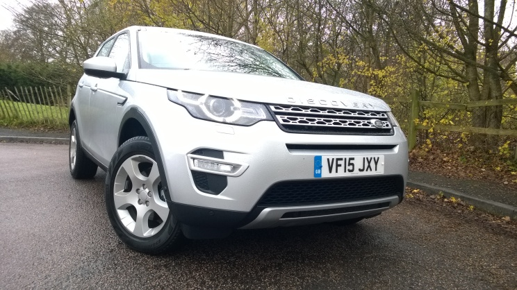 The new 2.0D Discovery Sport HSE