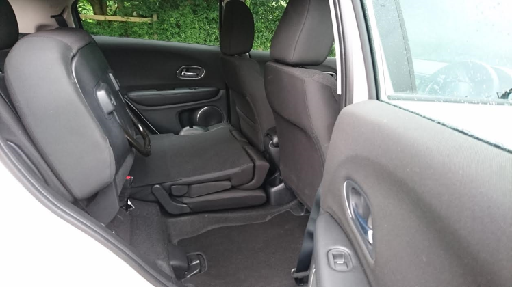 Use of space is excellent. The clever rear seat folds flat and also lifts up. A simple idea that others are yet to copy.