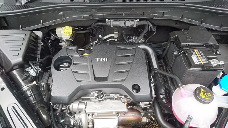 The engine is a joint venture between GM and SAIC. So long as you're not in race mode its sweet and refined below 4500rpm. Good mid range torque but its drops off very quickly at low revs. Not overly economical either but its cruises silently and the gearbox changes swiftly and precisely.
