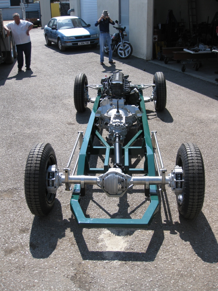 chassis engine