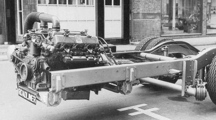 Roadliner AEC V8