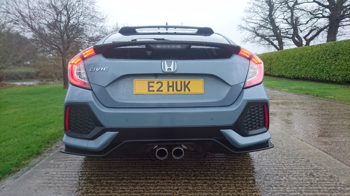 civic grey rear